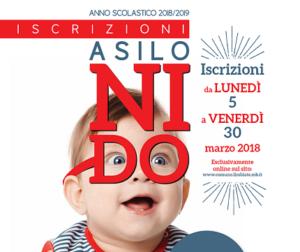 Iscrizioni Asili Nido Comunali 2018/2019
