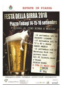 Festa della birra in piazza Tobagi