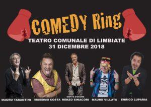 Ultimo dell'anno  di risate a teatro comunale