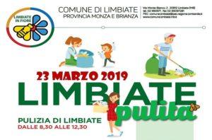 """Limbiate Pulita"" – 23 marzo, ore 8.30"