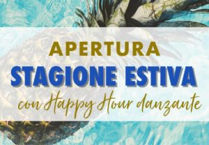 Happy Hour danzante in piscina – 31 maggio