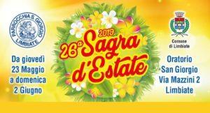 Sagra d'Estate 2019: dal 23 maggio al 2 giugno
