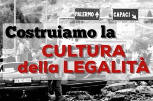 """""""Costruiamo la cultura della legalità"""" – 23 maggio, ore 21.00"""