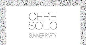 Ceresolo Summer Party – 20 luglio, dalle ore 09.00