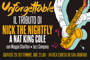 """""""Unforgettable"""" – Serata Jazz con Nick the Nightfly"""