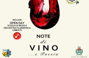 """""""Note di vino… e poesia"""" – 13 ottobre, dalle 17 alle 21"""