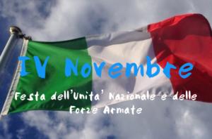IV Novembre: il programma delle celebrazioni