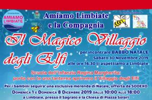 """""""Il magico villaggio degli Elfi"""" – 1 e 8 dicembre"""