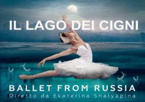 """""""Il lago dei cigni"""" a teatro – 7 dicembre, ore 21.00"""