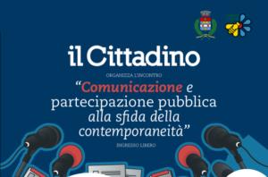 """""""Comunicazione e partecipazione pubblica"""" – 6 dicembre, ore 20.45"""