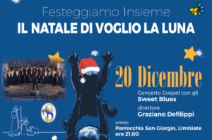 Il Natale di Voglio la Luna – 20 dicembre, ore 21.00