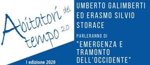 Abitatori del tempo 2.0: <br>Umberto Galimberti a Limbiate giovedì 12 novembre alle ore 18.30