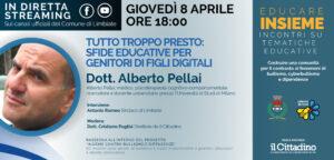 """""""Educare Insieme"""" con Alberto Pellai – VIDEO dell'incontro"""