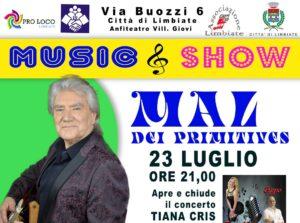 """""""Music & Show"""" a Villaggio Giovi – 23, 24 e 25 luglio"""