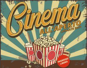 Cinema all'aperto – rinvio causa maltempo